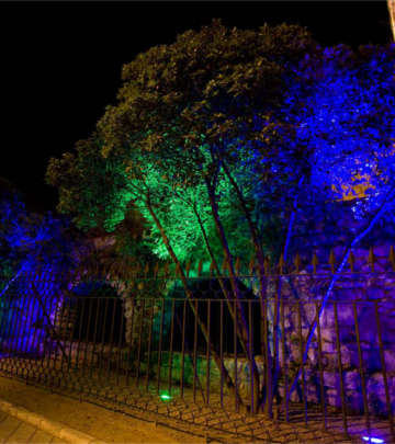 Lighting the Rivers of Light route, Valladolid with Philips Lighting's LED lights