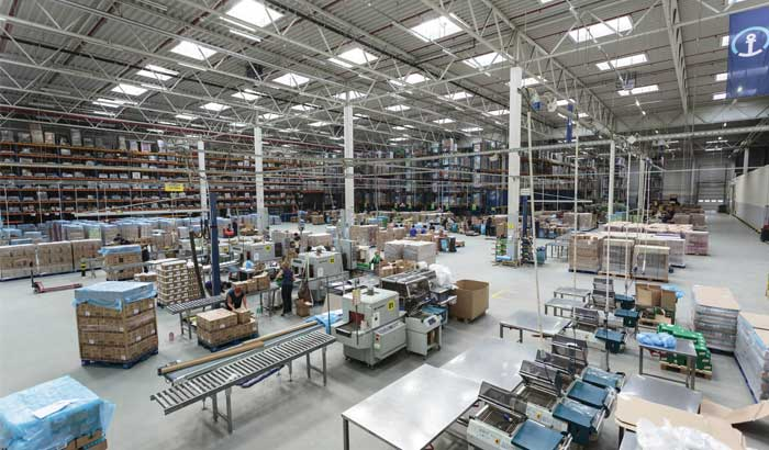 Unilever storage and distribution center