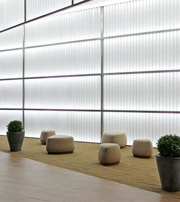 lighting for walls. wonderful walls the bright walls of vegas mall add to the shopping experience produced by  philips retail lighting intended lighting for walls