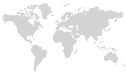 View of the world map