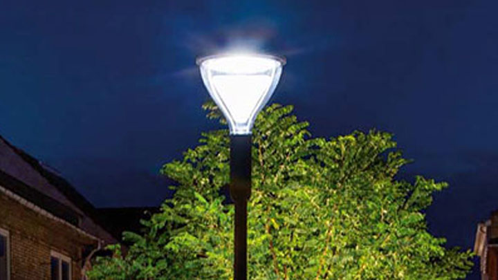 LED street lighting provides high quality of light